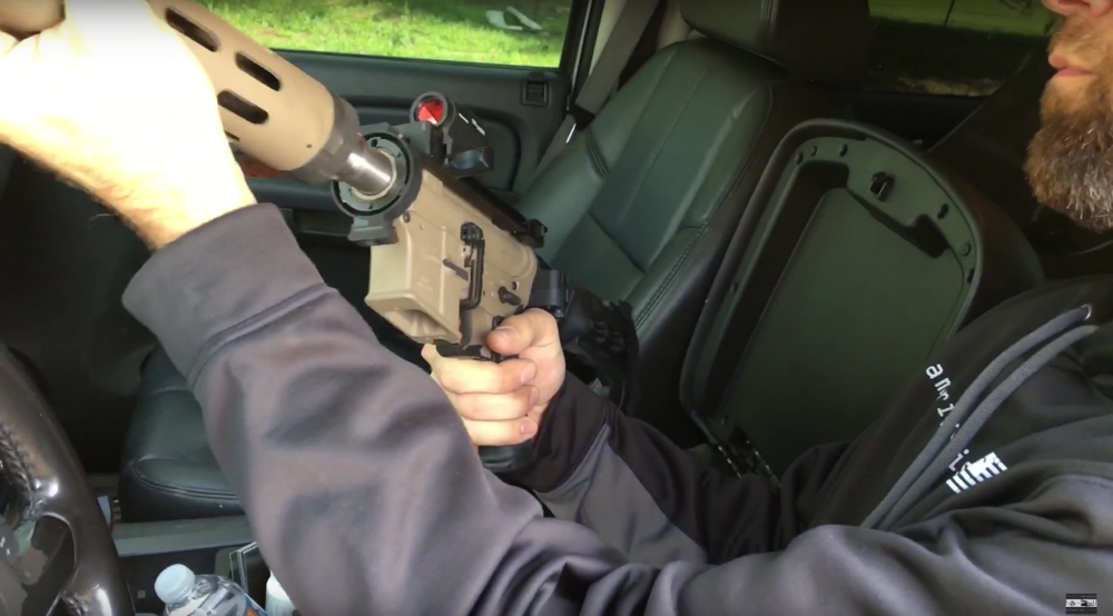 Watch: Breakdown 9mm AR Deployed, Fired, and Re-Stowed in Less Than 30 Seconds