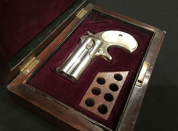 Doc Holliday's Derringer Sold for $84,000