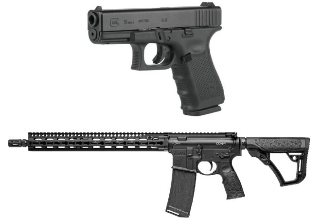 Enter to win a Glock 19 Gen4 or a Daniel Defense M4V11! - AllOutdoor