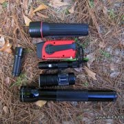 Bug out location flashlights