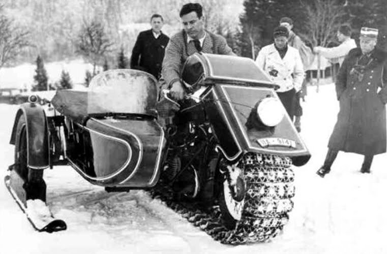 11 Unique and Vintage Snow Machines