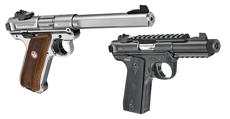 Three New 2017 Handguns From Ruger