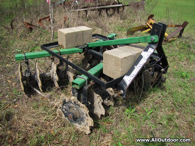 Tractor disk attachment