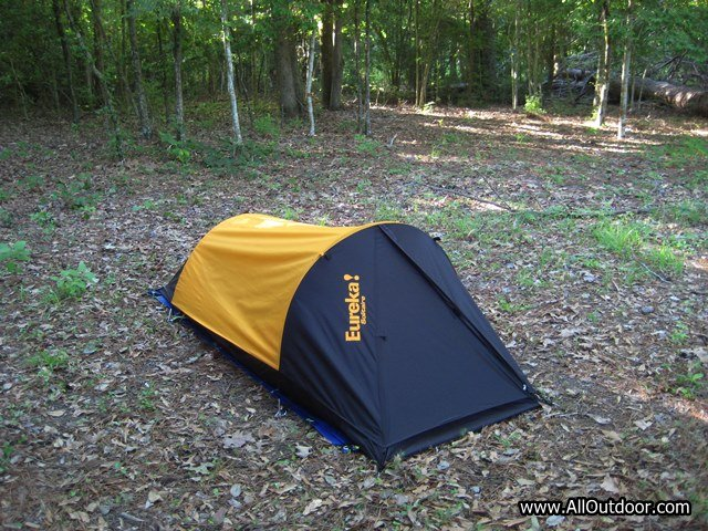Review: Eureka Solitaire Tent