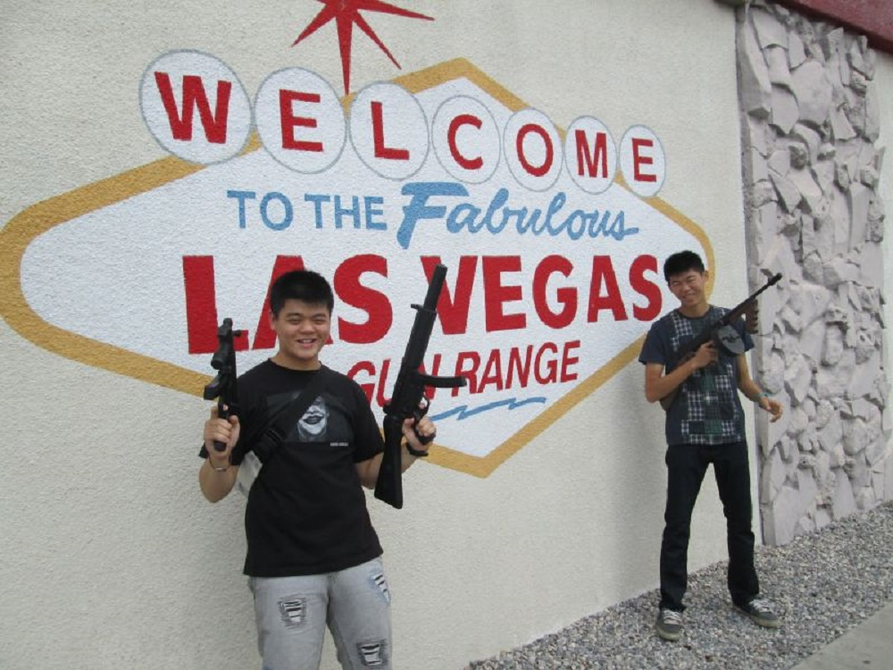 International Tourism Extends to Shooting Ranges