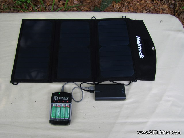 Using Solar to Recharge Household  Batteries