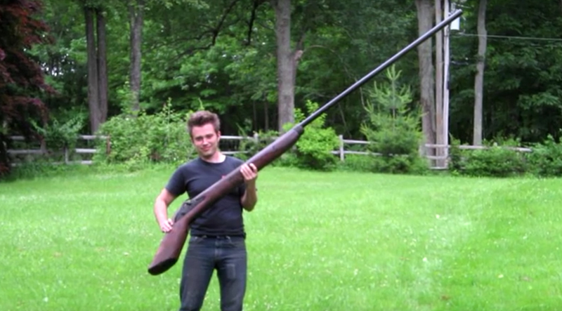 Watch: The Ten Most Bizarre Guns Ever Made