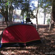 Camping on the Angelina river