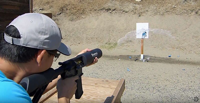 Watch: Chris Cheng's Can Cannon Speed Shooting Test