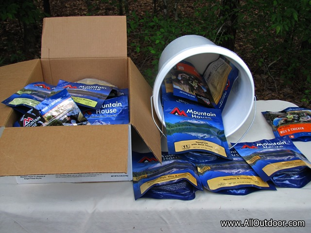 Stockpiling Freeze Dried Pouches