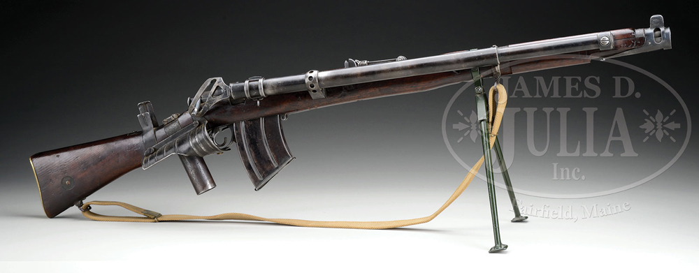 Watch: M1915 Howell Automatic Rifle Enfield Conversion