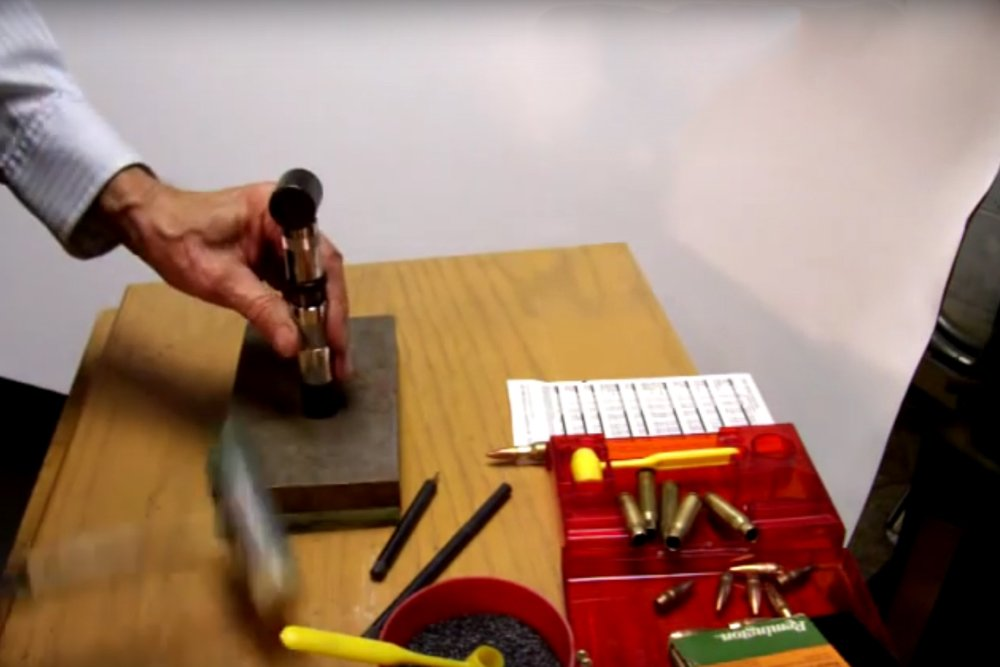 Watch: Reloading Rifle Ammo with Lee Loader