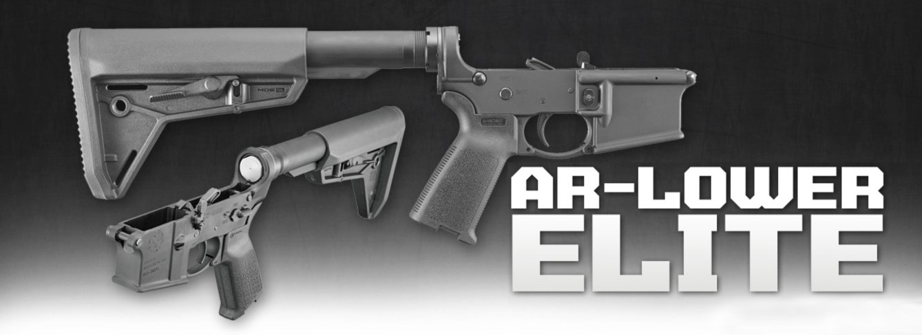 Now You Can Buy a COMPLETE Ruger AR Lower