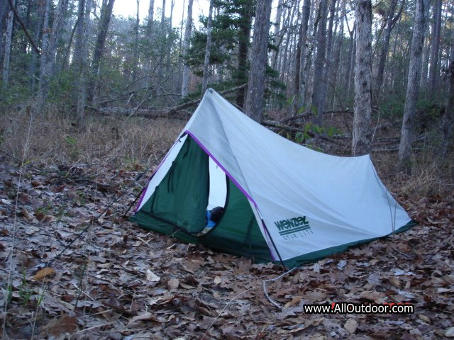 The Bad & Review: Wenzel Starlite One Person Tent - AllOutdoor.com