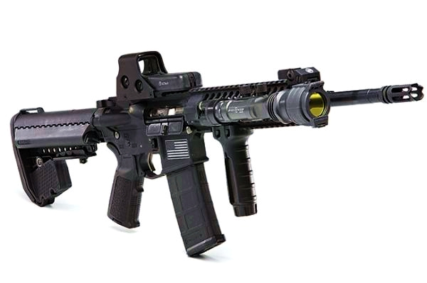 ar-15-for-home-defense-with-light