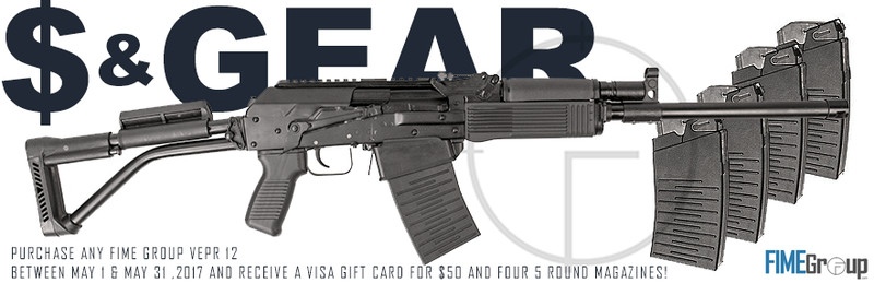 Buy a VEPR, Get $200 in Cash & Gear