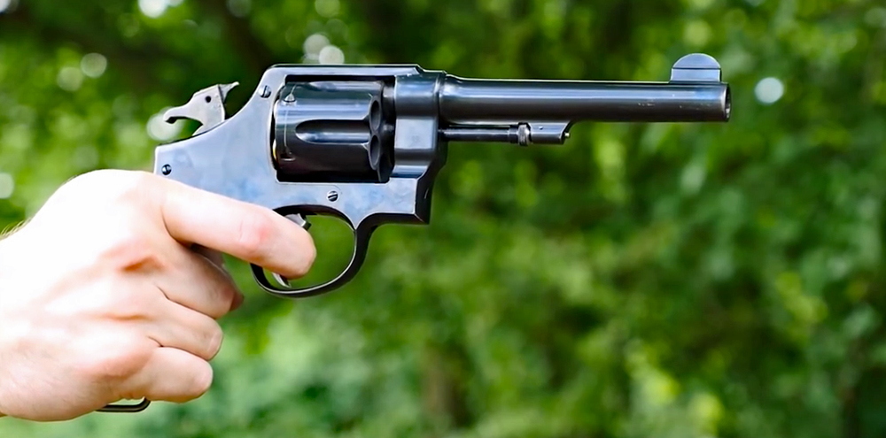Watch: Firing the M1917 45 ACP Revolver