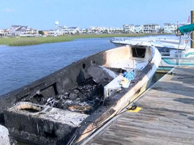 Gas Explodes After Fuel Pumped Into Fishing Rod Holder