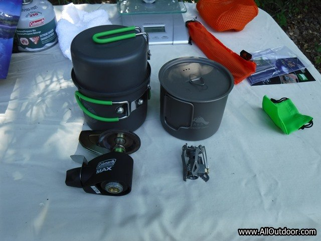 Bug out bag cook stove