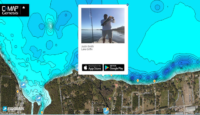 C-MAP and Fishbrain Partner to Produce Integrated Maps: ICAST 2017