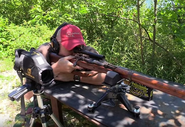 Watch: Japanese Type 99 WWII Sniper Rifle
