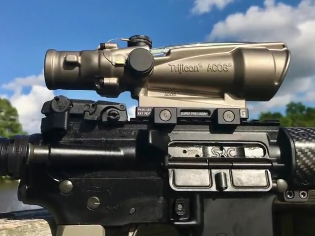 Watch: Trijicon TA11 3.5x ACOG Review
