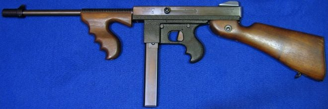 Commando Mark III Tommy Gun look-alike. (Photo © Russ Chastain)