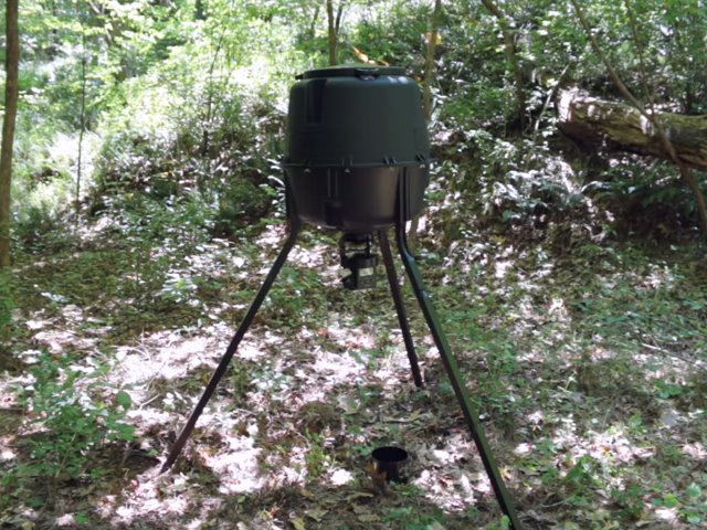 Moultrie Deer Feeder Assembly and Setup