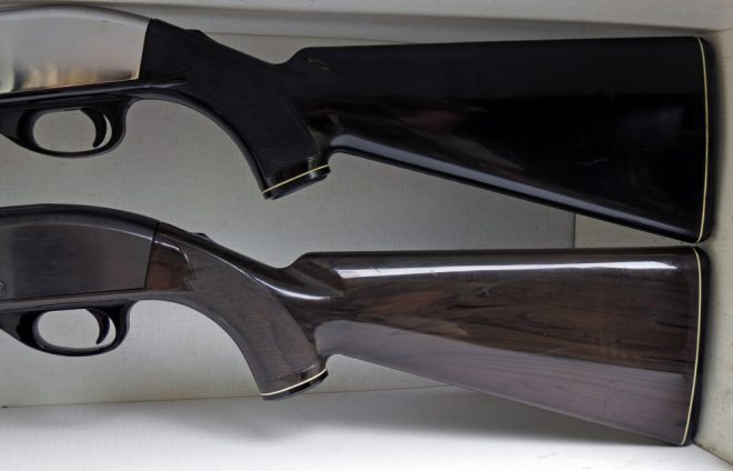 Remington Nylon 66 butt stocks. (Photo © Russ Chastain)