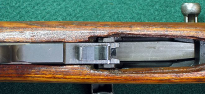 Installing SKS trigger group. (Photo © Russ Chastain)