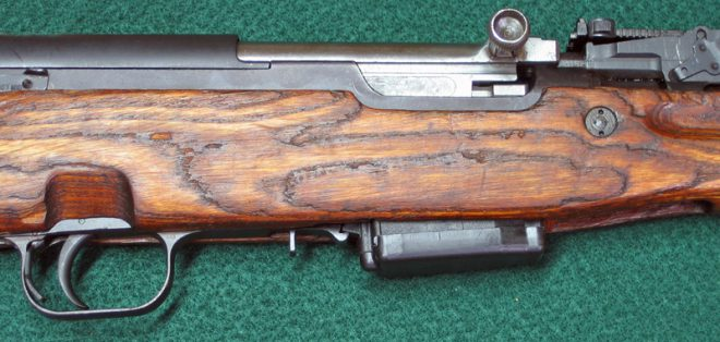 Side view of SKS with new mag. (Photo © Russ Chastain)