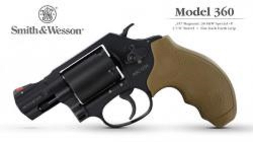 Smith and Wesson's New 360 J-Frame