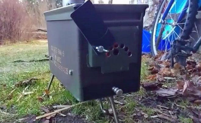 Watch Make An Ammo Box Tent Stove Without Welding