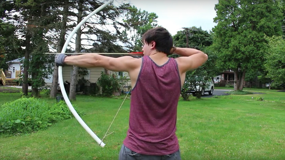 Watch: Quick DIY PVC Bow Without Heat or Power Tools