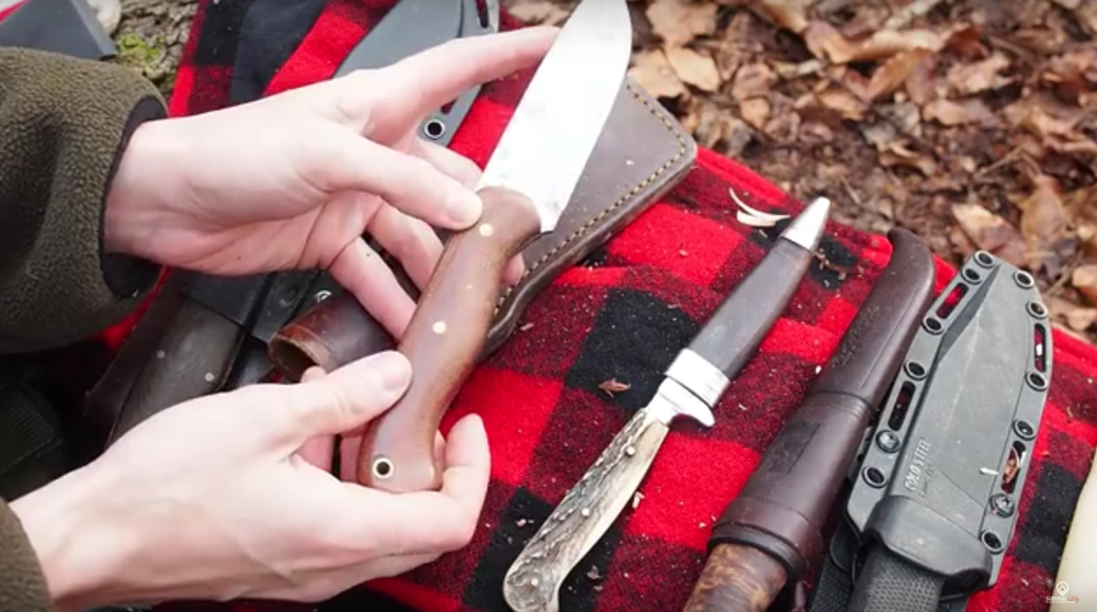 Watch: Survival Lilly's Survival Knife Collection