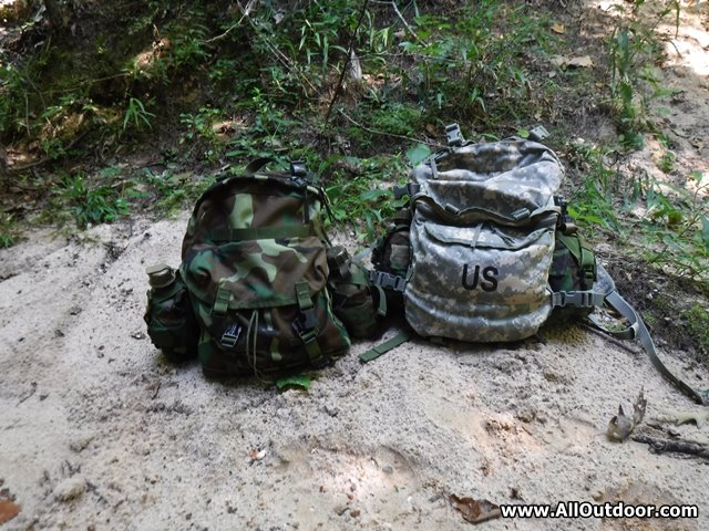 Military Surplus Patrol VS Assault Pack