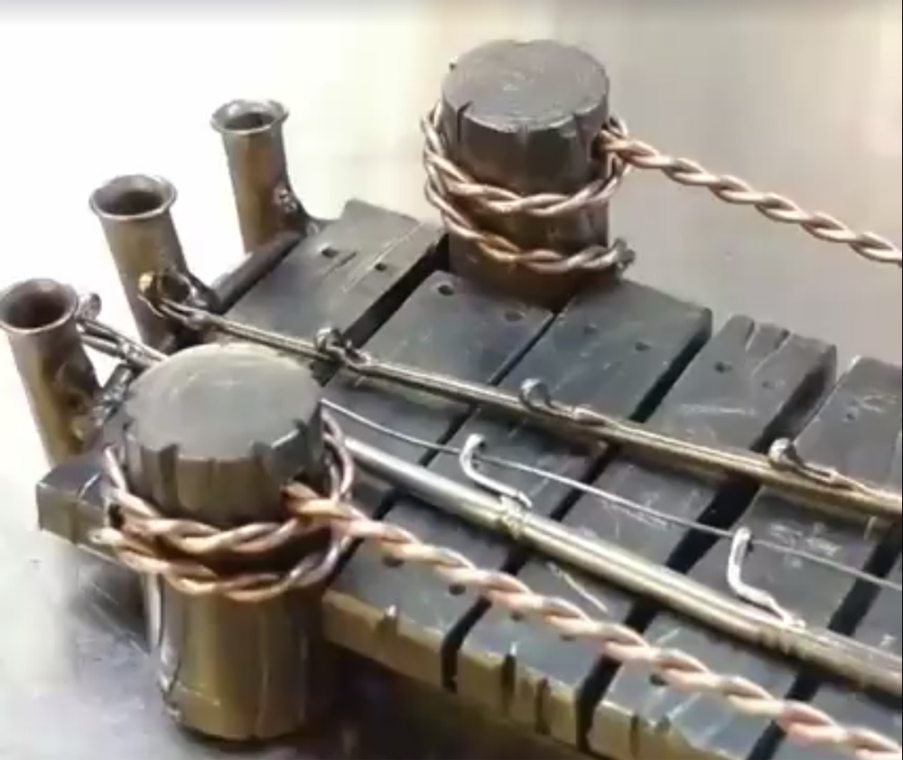 Watch: Tigger Welding's Latest Creation is for Fishermen