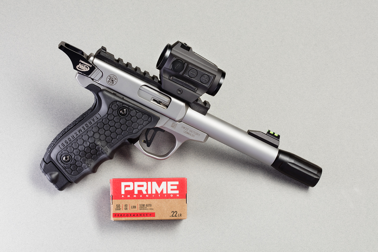 Better Grips for the Smith & Wesson Victory