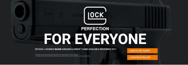 Watch: Umarex Exclusively Licensed to Make Glock Airguns & Airsoft