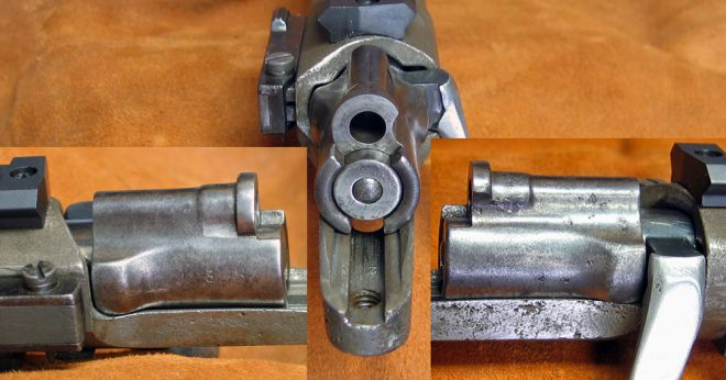 My Timney trigger has its own safety, so I decided to get rid of the bolt safety. I could have bought a new bolt shroud, but what fun is that? (Photo © Russ Chastain)
