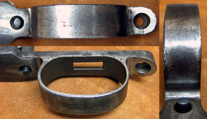 """Some """"before"""" pics of the trigger guard. (Photo © Russ Chastain)"""