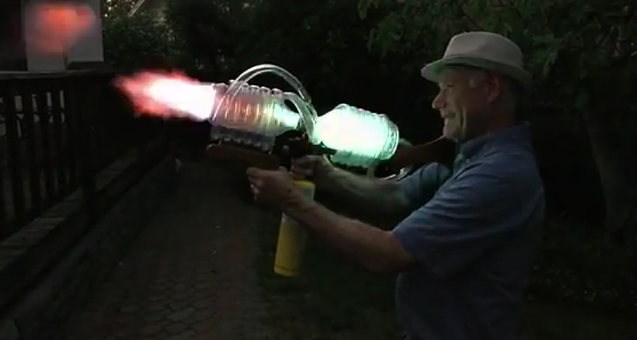 "Watch: A Fireball-Shooting ""Rifle"" You Can Own"