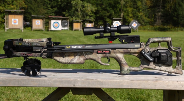 Review: TenPoint Eclipse RCX Crossbow + Video