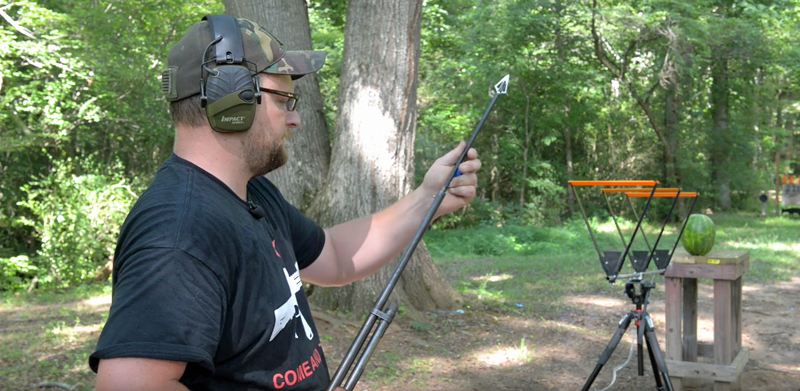 Watch: Shooting Arrows From a Shotgun