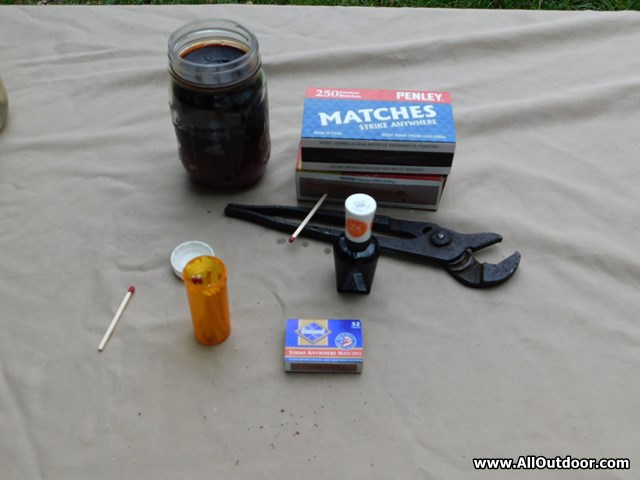 Make a DIY Fire Starter Kit With Waterproof Matches