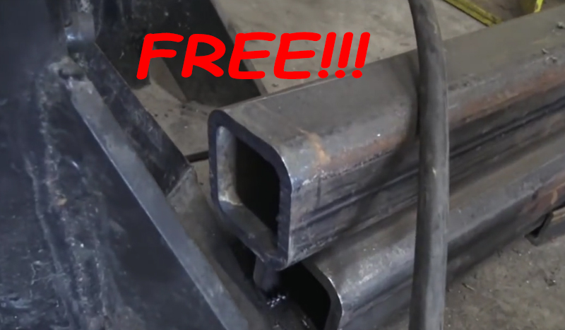 Watch: How to Get Free Structural Steel