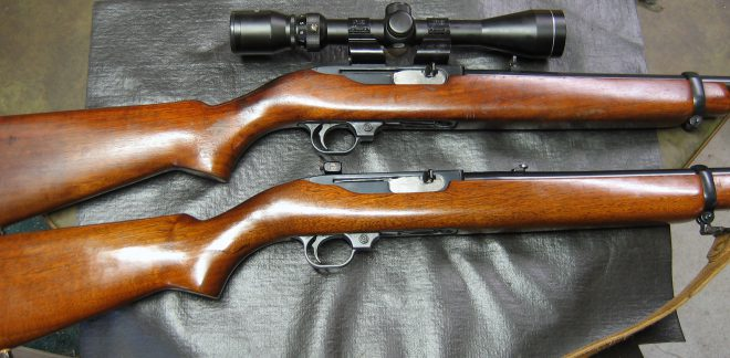 Ruger 44 magnum carbines. (Photo © Russ Chastain)