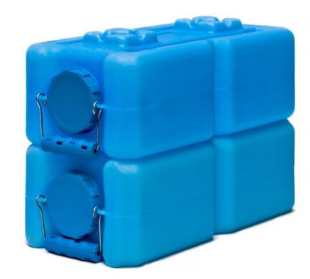WaterBrick: Stackable Survival Storage