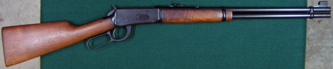 Right side of refinished rifle. (Photo © Russ Chastain)