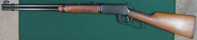 Left side of refinished rifle. (Photo © Russ Chastain)